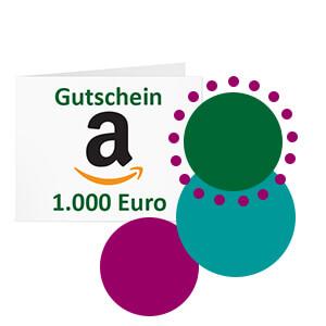 Amazon Gutschein 1.000 Euro Bild