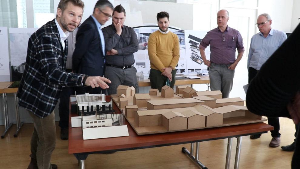 Architektenwettbewerb Auswahl der 3 besten Projekte