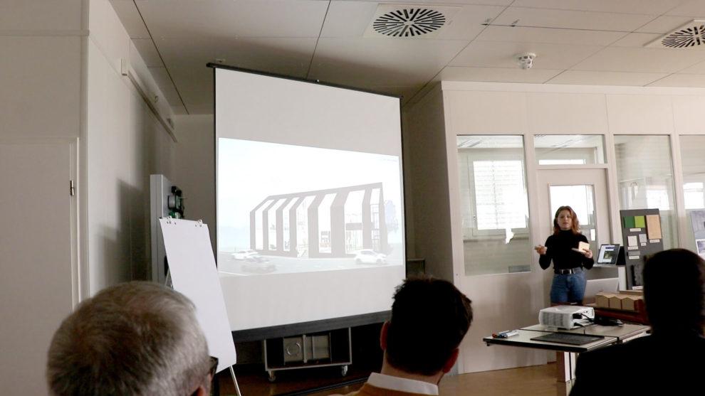 Architektenwettbewerb Präsentation Siegerprojekt - Next door