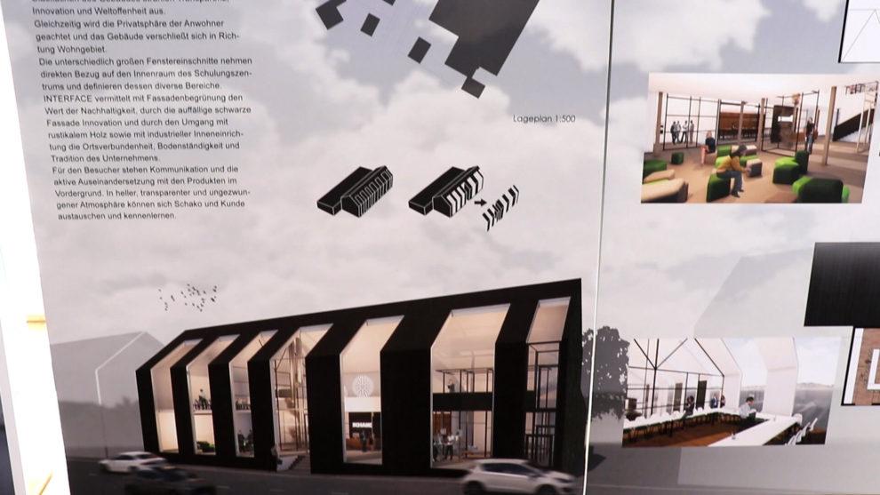 Architektenwettbewerb Rendering Siegerprojekt