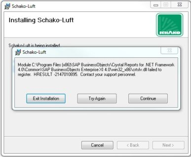 Installing Schako-Luft Screenshot