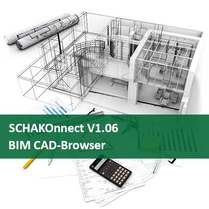 El navegador CAD SCHAKOnnect