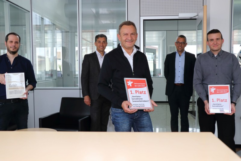 Bei SCHAKO freut man sich sehr über den ersten Preis der Fachzeitschrift cci Dialog aus Karlsruhe