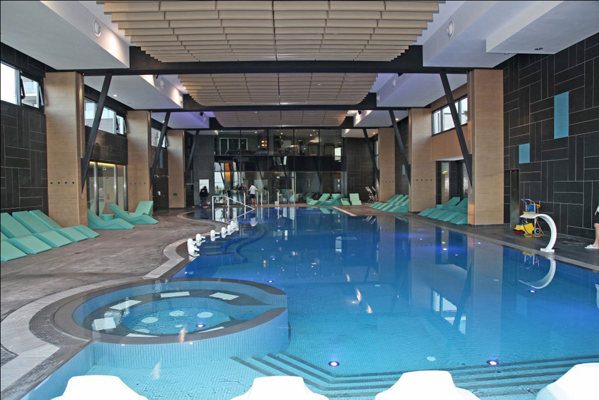 Cabourg thalasso for Hotel piscine cabourg